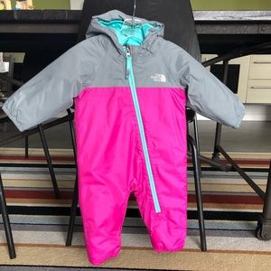 Like New North Face Down Bunting - Sz 6-12 months